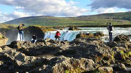 Island, vodopád