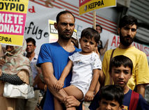 utečenci, migranti, Grécko, Afganistan