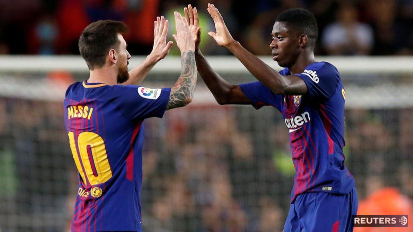 Lionel Messi, Ousmane Dembélé