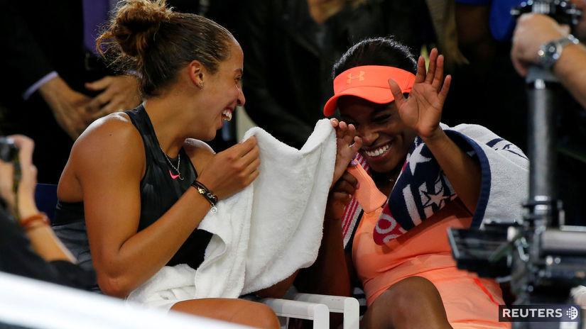 Sloane Stephensová, Madison Keysová