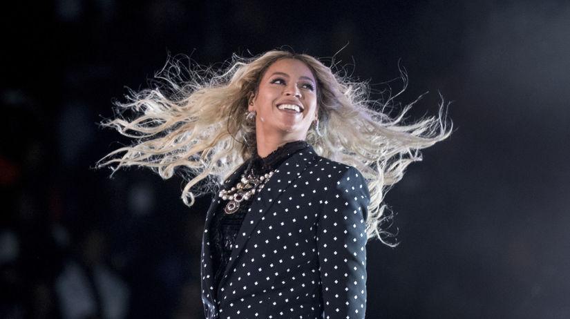 Speváčka Beyonce na archívnom zábere.