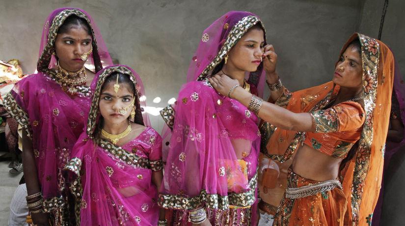 detská svadba v Indii