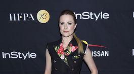 Herečka Evan Rachel Wood prišla v kreácii Dolce & Gabbana.