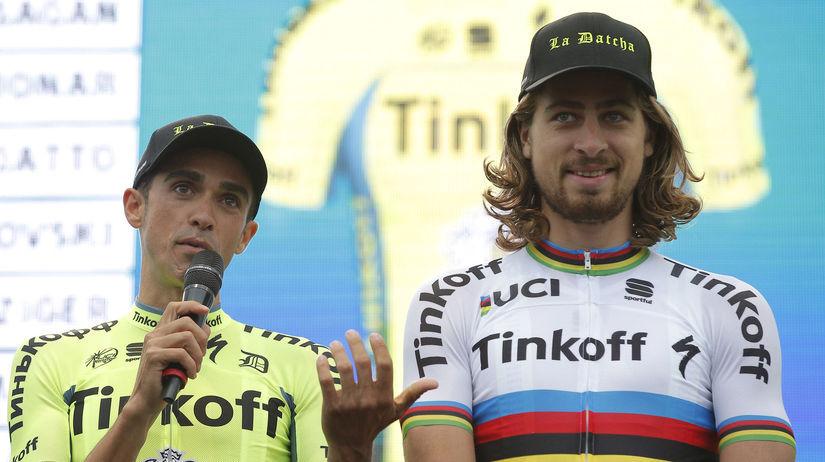 Alberto Contador, Peter Sagan