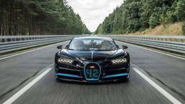 Bugatti Chiron - rekord 0-400-0