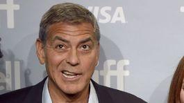 George Clooney, Julianne Moore a Matt Damon