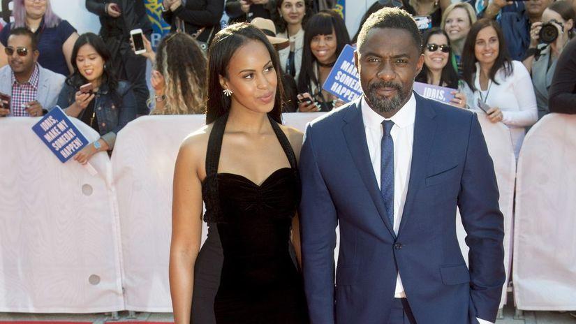 Idris Elba a jeho priateľka Sabrina Dhowre