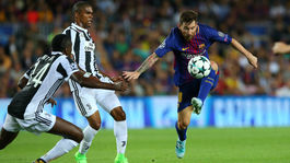 Lionel Messi, Douglas Costa, Blaise Matuidi