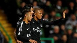 Neymar, Edinson Cavani, Kylian Mbappé