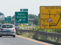 Najväčšie problémy čakajú motoristov počas rozšírenia D1 pri Bratislave
