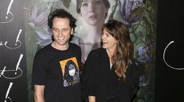 Matthew Rhys a jeho manželka Keri Russell