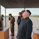 KĽDR, raketa, Kim Čong-un