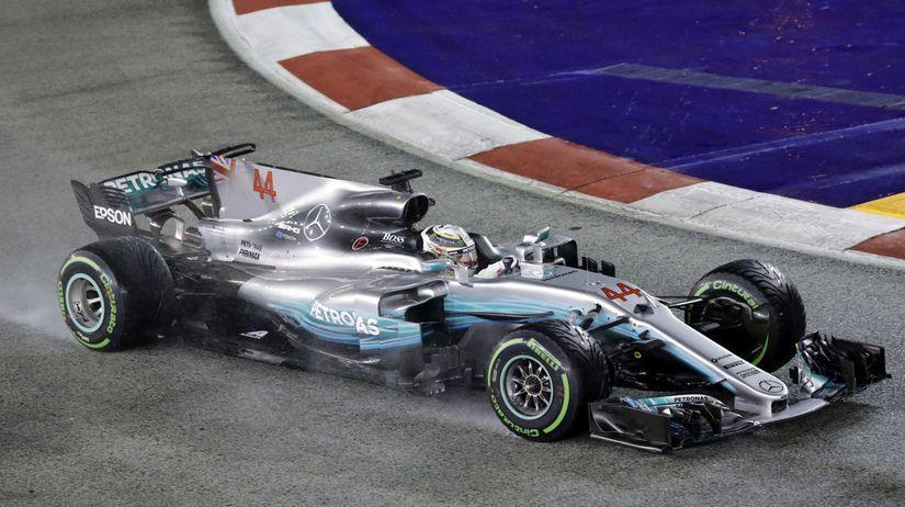 Singapore F1 GP Auto Racing