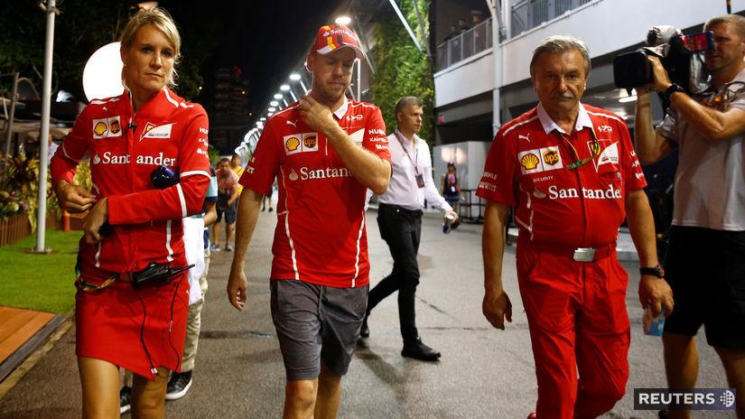 Singapur, Sebastian Vettel