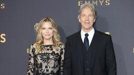 Herečka Michelle Pfeiffer a jej manžel David E. Kelley.