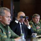 Putin neďaleko Petrohradu sledoval priebeh manévrov Západ 2017