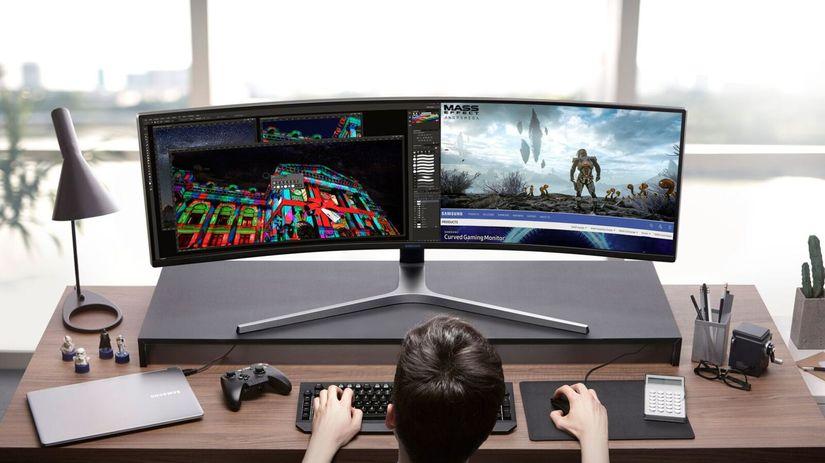 CHG90, Samsung, herný monitor, monitor, LCD