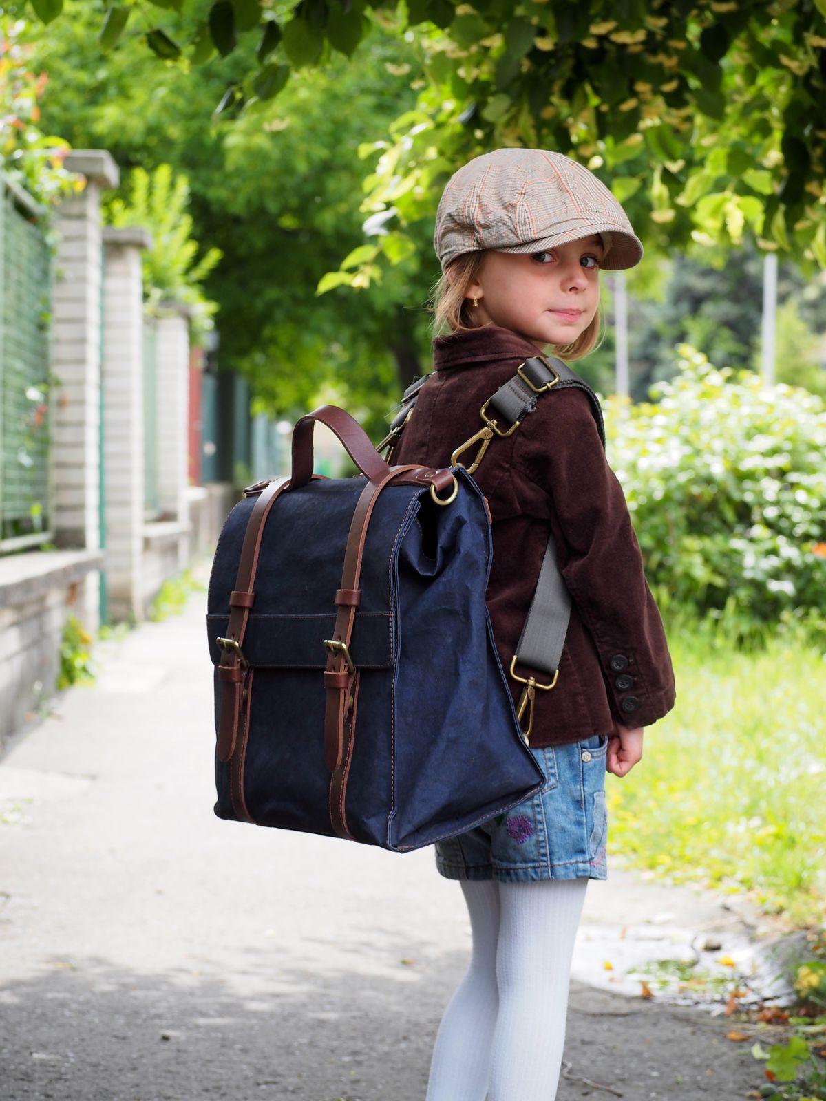 1c60dfbacacb Do školy môžete dieťa vyzbrojiť aj štýlovou aktovkou. Model na snímke  Uashmama.