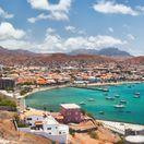 Kapverdy, Kapverdské ostrovy, Cape Verde, Mindelo, ostrov Sao Vicente, more, dovolenka, cestovanie, prístav, lode, člny