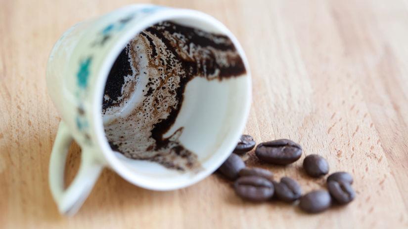 káva, usadenina