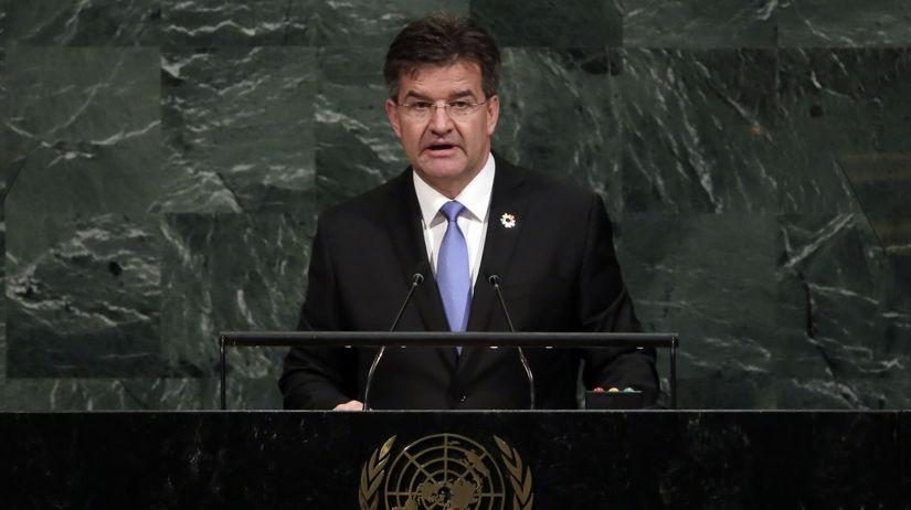 Miroslav Lajčák v OSN