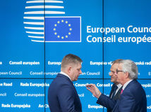 Fico, Tusk,  Juncker