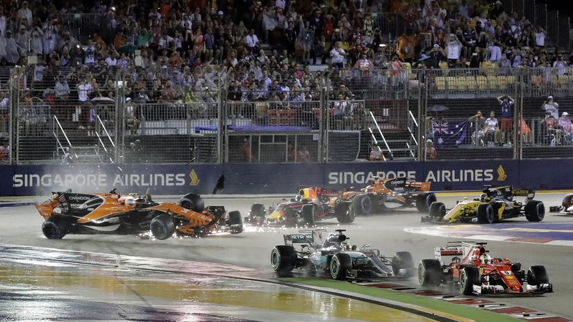 VC Singapuru, havária