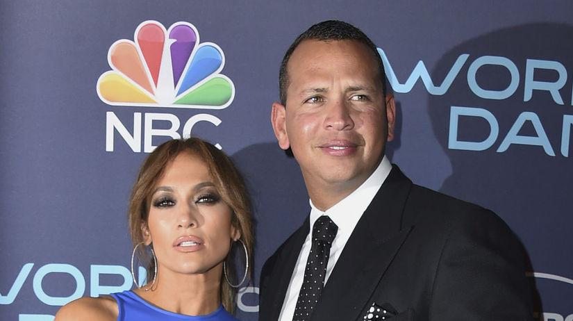 Jennifer Lopez a jej partner Alex Rodriguez