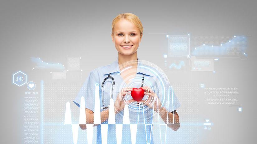 lekár, vyšetrenie, prehliadka, srdce
