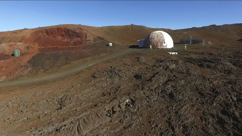 Mars, simulovaná misia