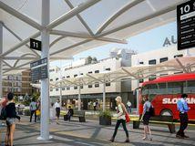 Náhradná autobusová stanica v Bratislave začne fungovať od 1. októbra