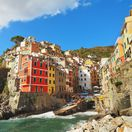 Taliansko, Cinque Terre, more, leto, dovolenka