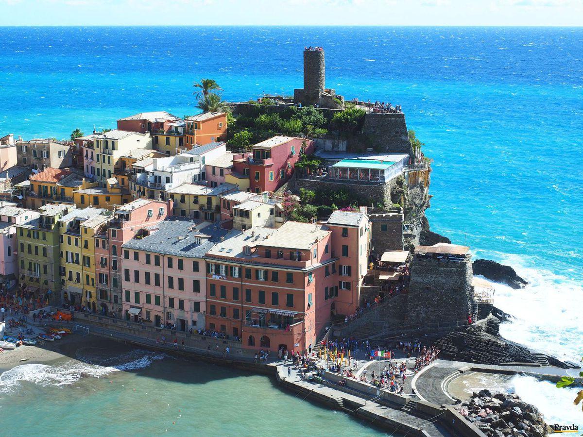 Taliansko, Cinque Terre, Vernazza
