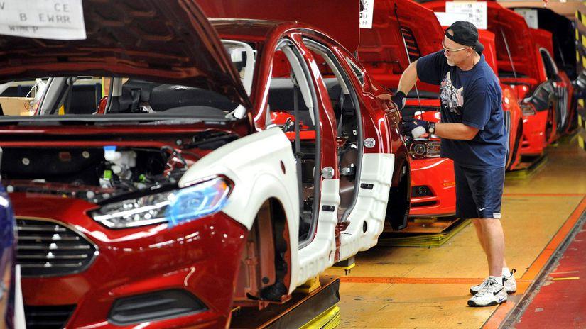 Ford Fusion - produkcia