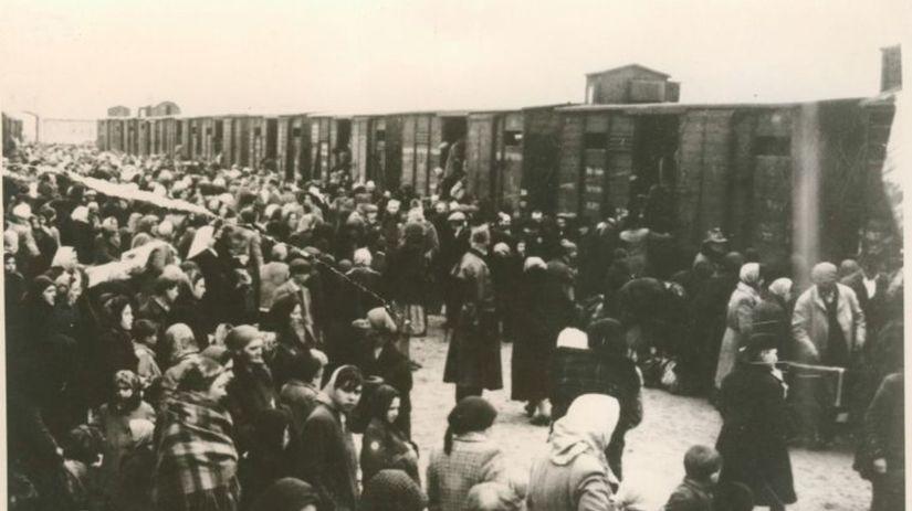 holokaust, transport Židov