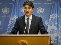 Justin Trudeau v OSN