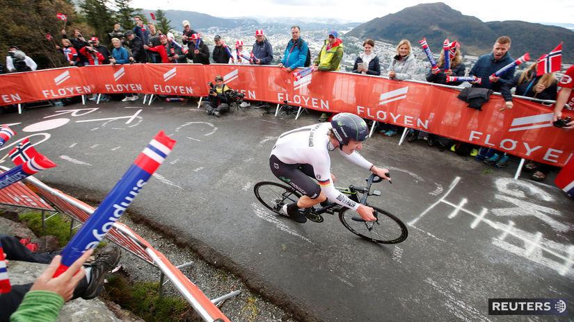 MS v Bergene, časovka, cyklistika