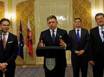 ÚV: TB premiéra SR a podpredsedov EK