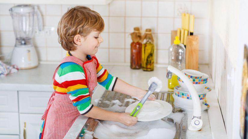 dieťa, pomoc v domácnosti, povinnosti