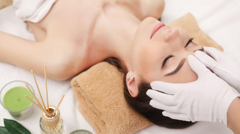 kozmetika, salón, pokožka, masáž, ošetrenie