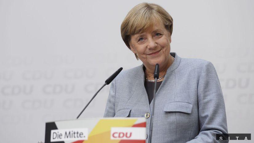 Merkelová, nemecké voľby