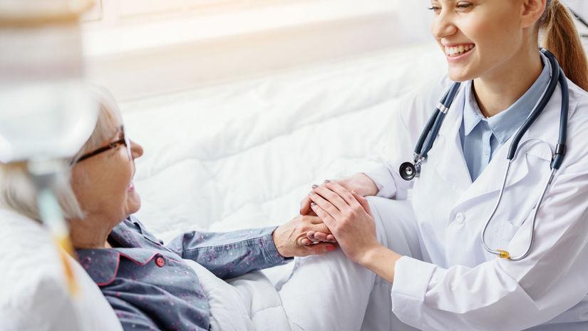 nemocnica, staroba, choroba, pacient