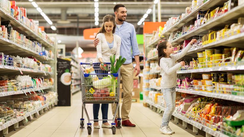 obchod, nakupovanie, zľavy, rodina, nákup,...