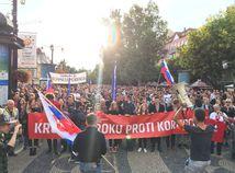 Tretí protikorupčný pochod sa skončil. Študenti žiadali vyšetriť kauzy