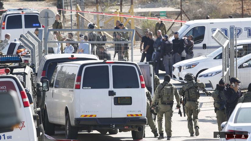 Izrael, útok Palestínčana