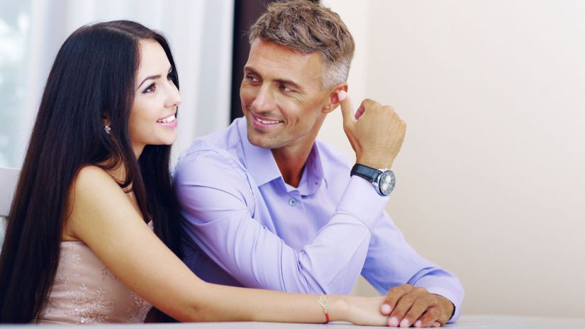 láska, vzťah, starší partner