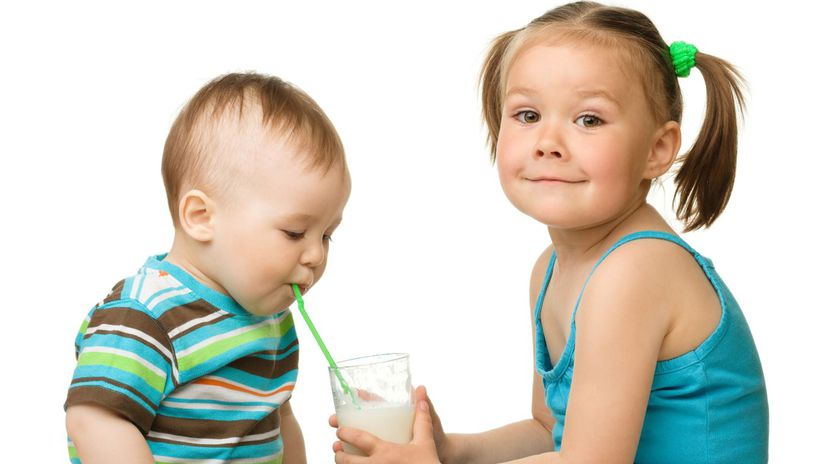 deti, mlieko