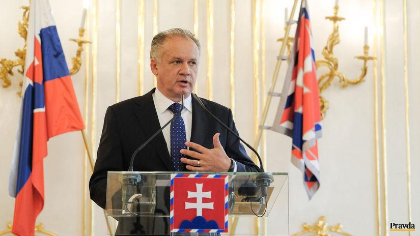 prezident Andrej Kiska dane kampan