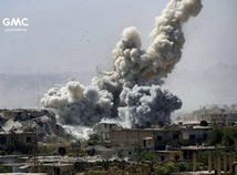 syria, idlib, bombardovanie,