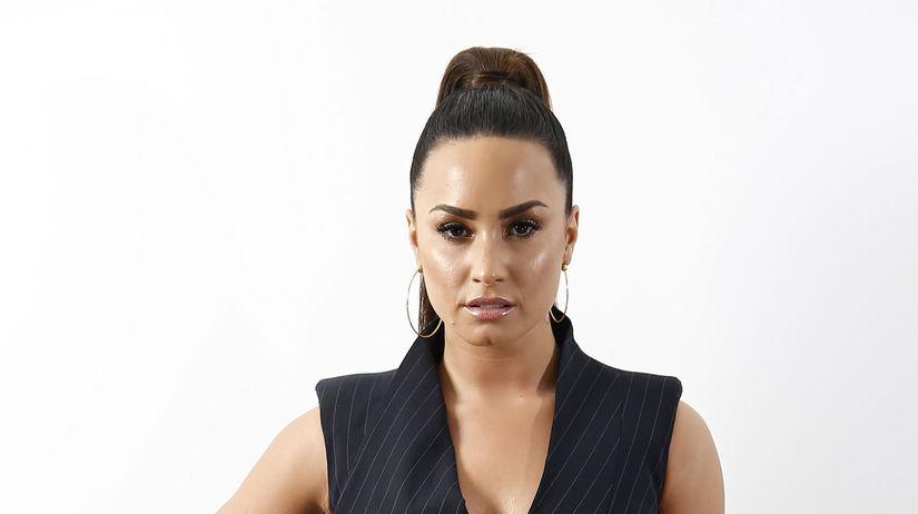 Speváčka Demi Lovato.
